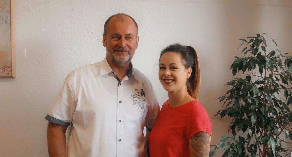 Andreas Deutel und Janin Kaldenbach